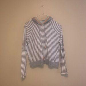 Splendid x Gray Malin hooded top